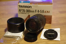 Tamron AF 70-300 mm 4-5.6 di LD macro 1:2 para Pentax K