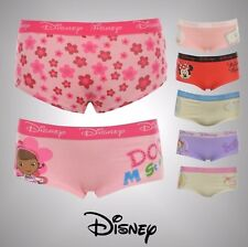 Infants Girls Disney Character Print Single Boxer Briefs Underwear Size Age 2-10