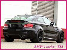 BMW SERIE E82 1 posteriore/bagagliaio Trunk SPOILER (2007-2011)