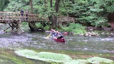 Kanutour durch die Stromschnellen der Warnow bei Eickhof Kanu Vermietung Tour