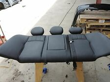 OEM Mercedes w203 2001-2007 C-Class Rear Seat Upper Portion Black Leather (C0)