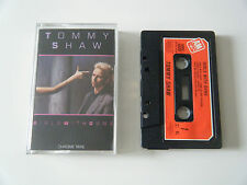 TOMMY SHAW GIRLS WITH GUNS CASSETTE TAPE 1984 RED PAPER LABEL A&M UK