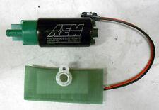 SALE AEM HIGH FLOW Ethanol E85 1000HP FUEL PUMP 320 LPH Universal Install Kit