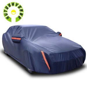 15Ft Universal Car Cover Waterproof All Weather Protection Dust UV Resistant