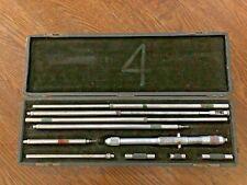 Starrett 124c Inside Micrometer Set