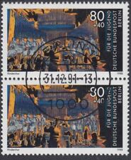 Berlin Sondermarken aus 1988 mit perfektem Tagesstempel vom 31.12.1991 (VB-03)