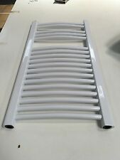 Get Curved Style Towel Radiator heater 645BTU 400mm x 750mm - White
