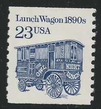 US Scott #2464, Single 1991 Lunch Wagon 23c VF MNH