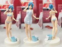 Sexy! Japan Anime Sword Art Online SAO Yuuki Asuna Bathing EXQ PVC Figuren 23cm