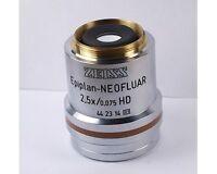ZEISS EPIPLAN NEOFLUAR 2.5x /0.075 HD MICROSCOPE OBJECTIVE