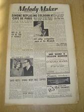 MELODY MAKER 1950 APRIL 15 CAFE DE PARIS DUKE ELLINGTON FRANK WEIR WEST END
