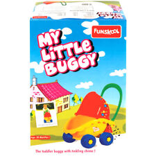 Funskool My Little Buggy Push Along Toy Buggy with Chime for Baby Dolls