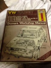 1975-1992 HAYNES #884 US VW RABBIT GOLF JETTA SCIROCCO PICK-UP REPAIR MANUAL
