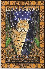 Mint Phish Springsteen 2009 Bonnaroo Signed Everett Poster 70/100