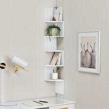 en. casa ® 3er Set Hexagone étagère murale suspendu étagère design nid d/'abeille Lounge gris