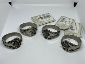 NWT Southern Living Napkin Ring Holders Set Of 4