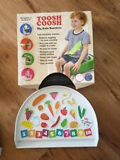 NEW IN BOX Table booster seat Toosh Coosh with Toddler Tray
