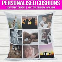 Personalised Photo Cushion Pillowcase Pillow Case Cover Custom Gift Family Love