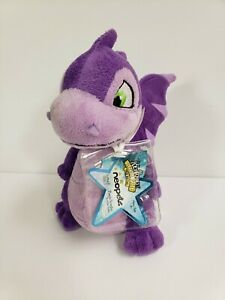 Neopets Purple Scorchio Plushie Series 3 Keyquest 2008 New With Tag and Code