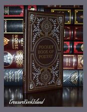The Pocket Book of Poetry Brand New Leather Gift Shakespeare Poe Burns Dickinson