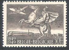 Belgium 1949 Beigian Stamp Centenary brown 50f mint SG1275