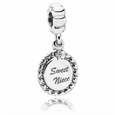 NEW Authentic Original Pandora, Süße Nichte Anhänger Armband Charm 791278cz