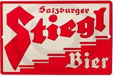 "Stiegl Bier Vintage Retro Metal Sign 8"" x 12"""