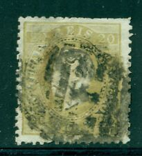 PORTUGAL 39 SG76 Used 1870-84 20r bister King Luiz Cat$25