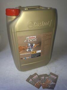 20 Liter Castrol EDGE Titanium 5W-30 C3 Motoröl MB 229.31 + 229.51; dexos2