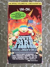 South Park: Bigger, Longer Uncut (Vhs, 1999)