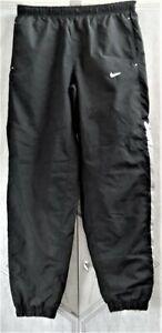 NIKE Training Tracksuit Pants Bottoms SIZE M Black