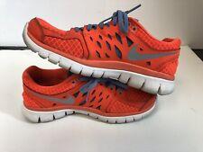Nike Womens Flex Run 2013 Orange Size 7.5