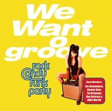 We Want Groove by Rock Candy Funk Party (Vinyl, Jan-2013, Provogue)