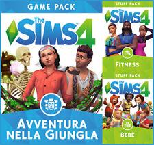 [Espansione Digitale Origin] PC/MAC The Sims 4: Bundle Pack 6 Nella Giungla KEY