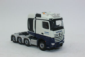 Herpa 071376 Mercedes-Benz Arocs Lorry Tractor Wasel 1:50 New IN Boxed