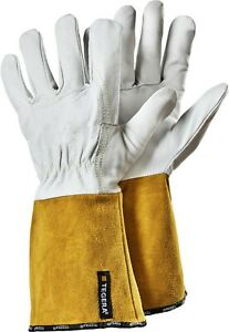 ~~ Tegera 130A Leather Welding Heat Resistant Gloves All Sizes ~~ Metalwork ~
