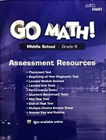 8th Grade 8 Go Math StA Assessment Resource Standards 2018 Edition Middle School