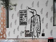 ART PRINT POSTER PHOTO GRAFFITI MURAL STREET ART PENIS HEAD SUIT FUNNY NOFL0292