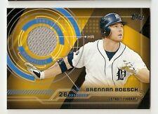 Brennan Boesch 2014 Topps Trajectory Jersey Relic - Detroit Tigers *B*