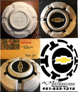 1967-1974 Chevy C10 vintage hubcap decals you get enough for 4 hubcaps
