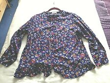 Papaya Size 16 Blouse Floral