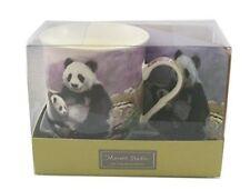Panda fine china mug and coaster set by the leonardo collection