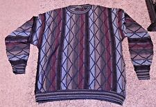 Men's Vintage Protege Sweater XL Cosby Sweater 1990s Made in the USA
