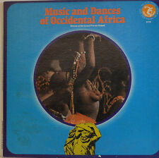 """MUSIQUE AND DANSES OF OCCIDENTAL AFRICA - WINNER THE GRAND PRIX 12"""" LP (W 722)"""