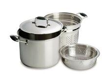 Baccarat ELITE 24 x 17cm 3 Piece Multi-Cooker Brand New - Professional cookware