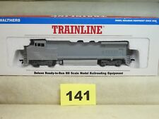 WALTHERS HO TRAINLINE #931-151 GE DASH 8 40BW UNDECORATED DIESEL LOCOMOTIVE NEW