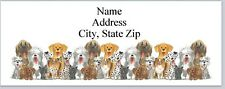 Personalized Address Labels Cute Dogs Buy 3 get 1 free (P 466)