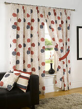 Unbranded Polyester Floral Curtains