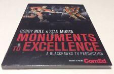 Monuments to Excellence- Bobby Hull Chicago Blackhawks Hockey-NEW SEALED, Rare
