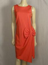 Katherine Barlay beautiful salmon sleeveless dress size 8